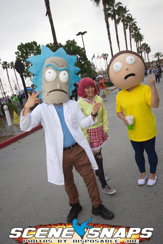 I'm a huge Rick and Morty fan…this cosplay rules!
